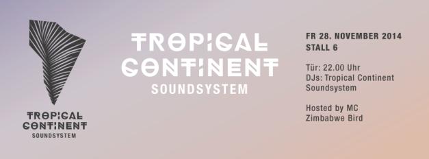 TropicalContinentEventNov2014