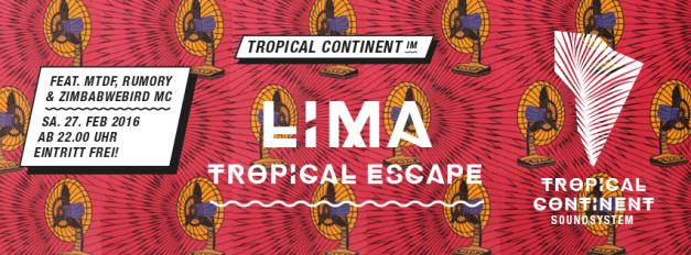 TropicalContinentEventLimaBarFeb2016