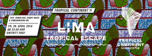 TropicalContinentEventLimaBarApril2016